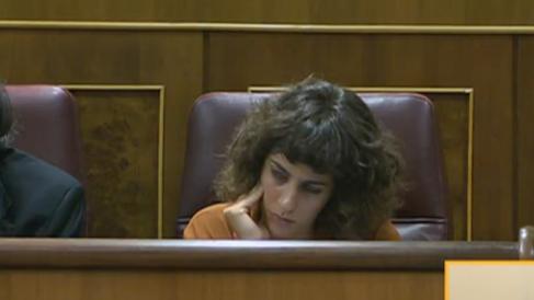 Alexandra Fernández, portavoz de En Marea.