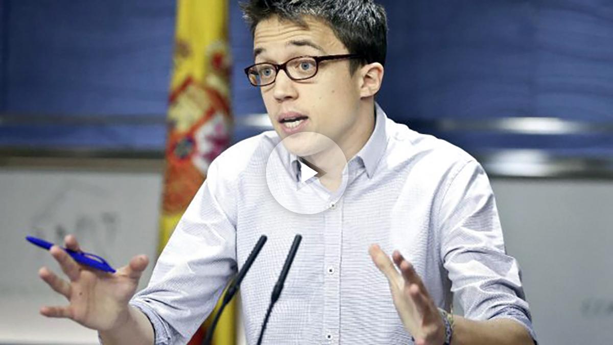 El portavoz parlamentario de Podemos, Íñigo Errejón (Foto: Efe)