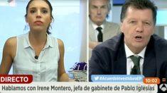 Irene Montero este lunes en 'Espejo Público'.