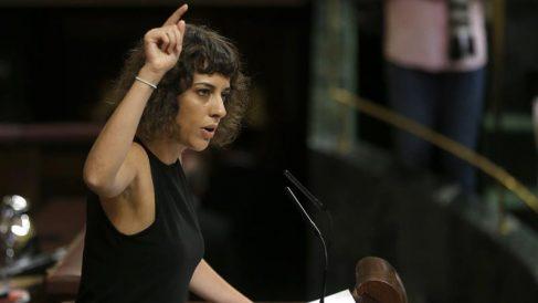 Alexandra Fernández, diputada de En Marea. (Foto: EFE)