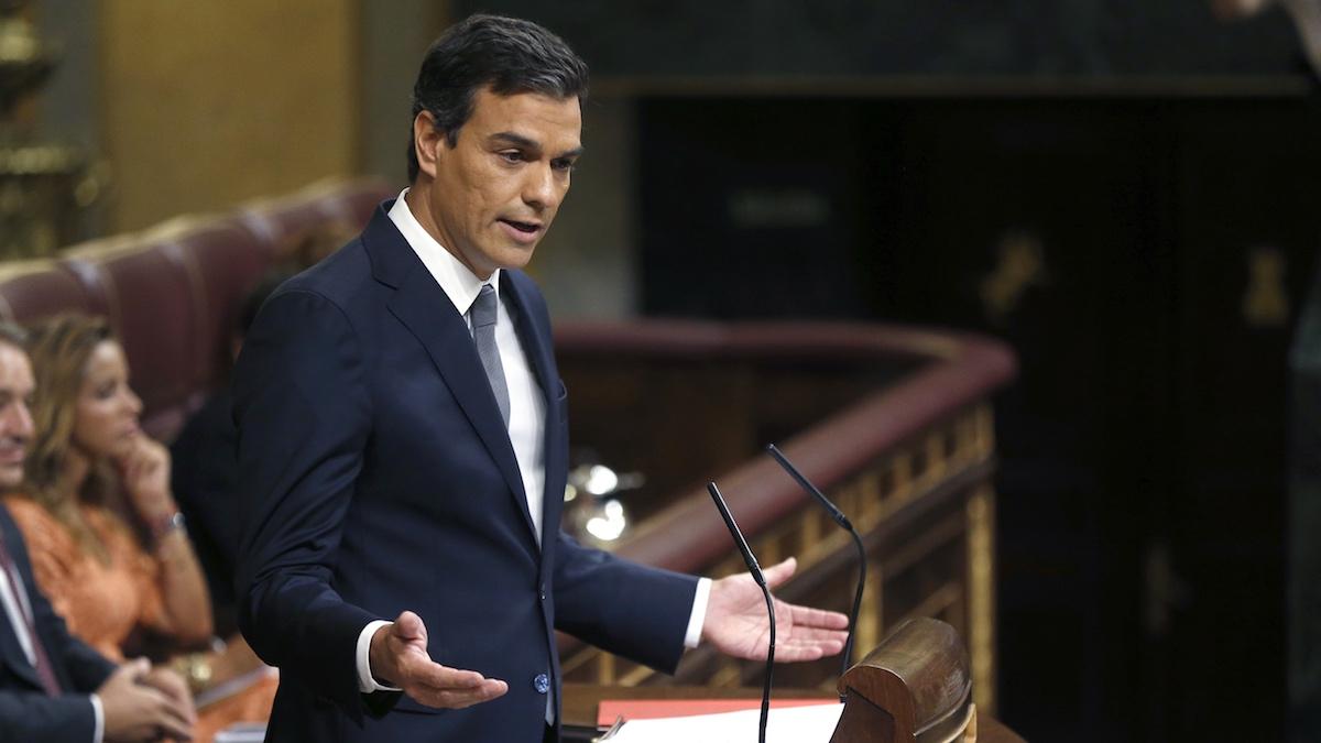 El líder del PSOe, Pedro Sánchez. (Foto: EFE)