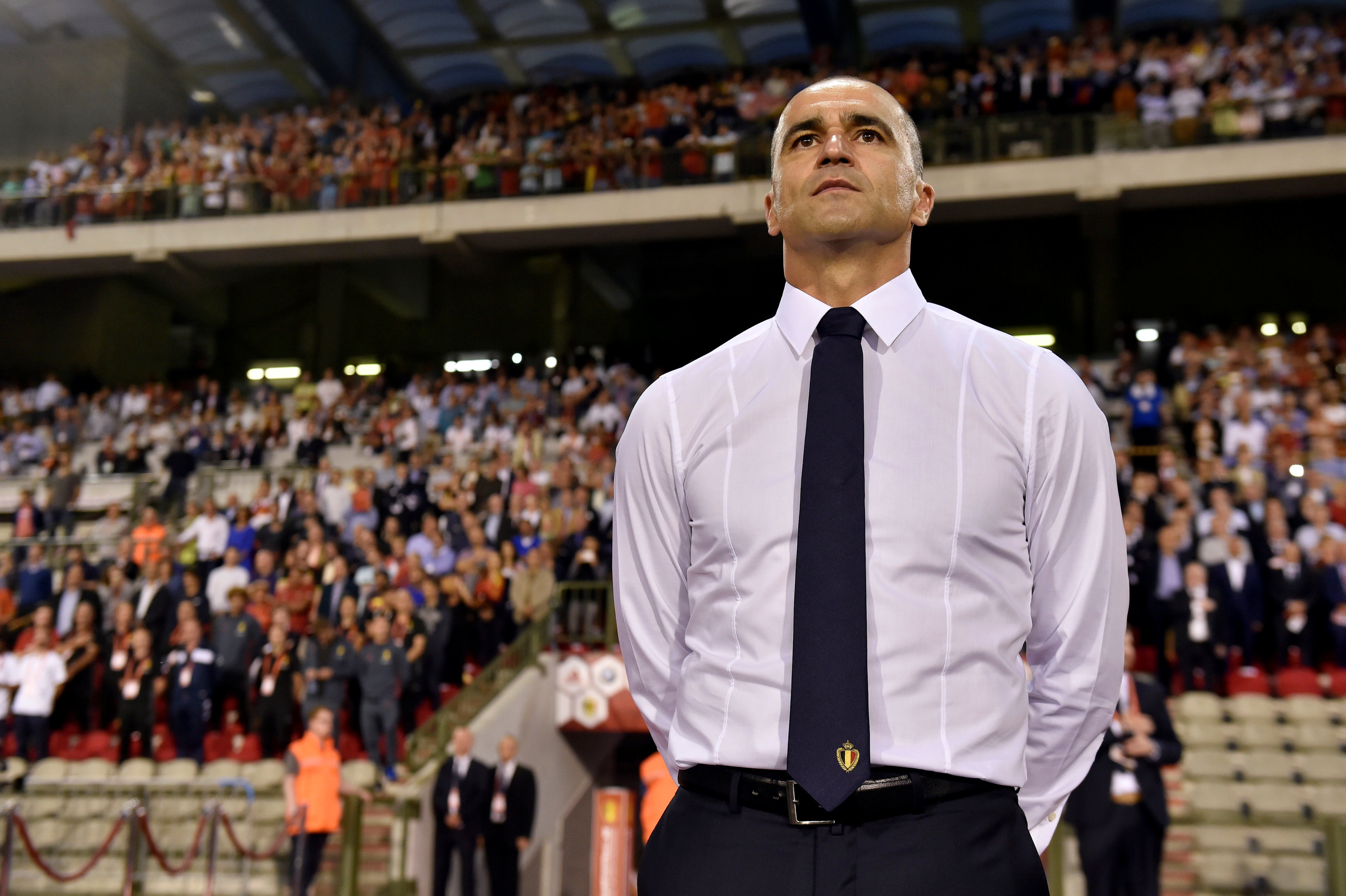 Roberto Martínez, seleccionador de Bélgica. (AFP)
