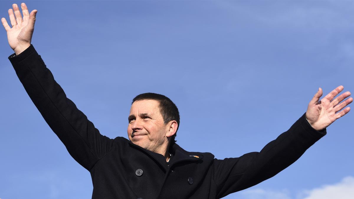 Arnaldo Otegi. (Foto: AFP)