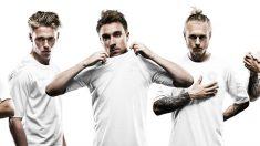 La revolucionaria camiseta blanca de Dinamarca.