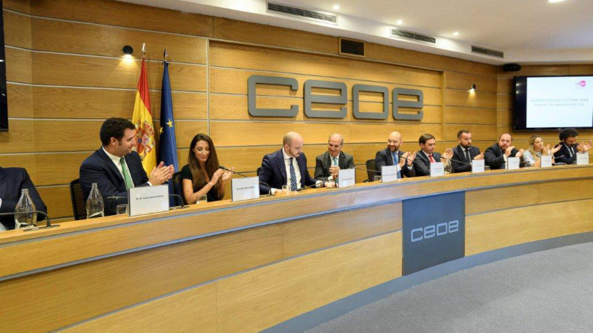 Fermín Albaladejo, presidente de Ceaje. (Foto: CEOE)