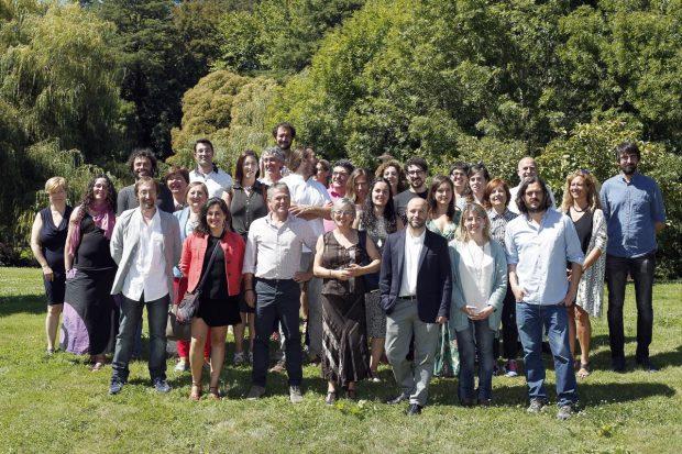 Candidatos de En Marea para las elecciones gallegas del 25 de septiembre.