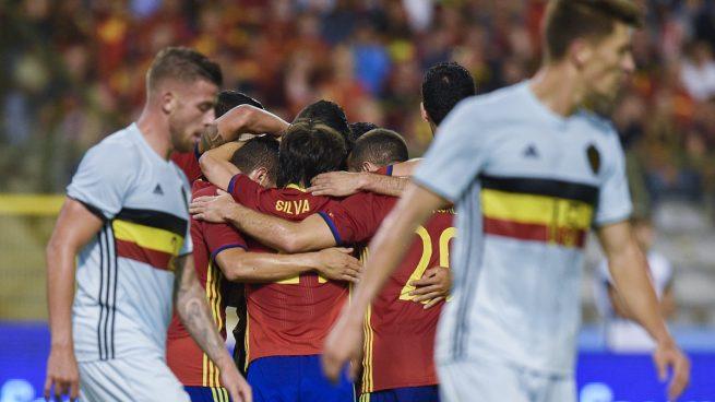 España Vs Bélgica: resultado, resumen y goles (0-2)