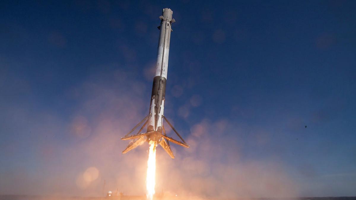 La nave Space X. (Getty)