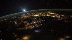 En su última misión, Kelly dio muchas vueltas a la Tierra y pudo captar imágenes.