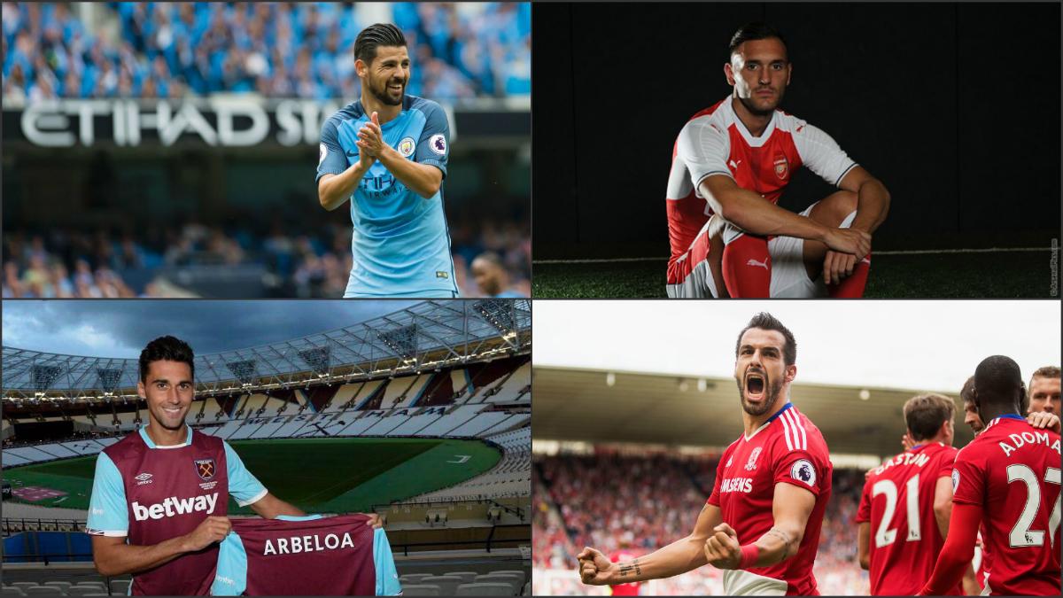 Los jugadores españoles emigran a la Premier League.