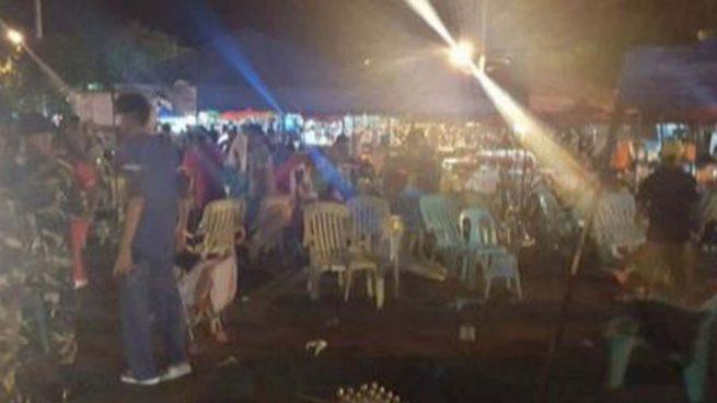 Decenas de muertos en un mercado nocturno de Filipinas por la explosión de una bomba