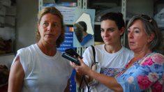 La misionera española asesinada en Haití Isabel Solà, a la izquierda. (Foto: Manos Unidas).