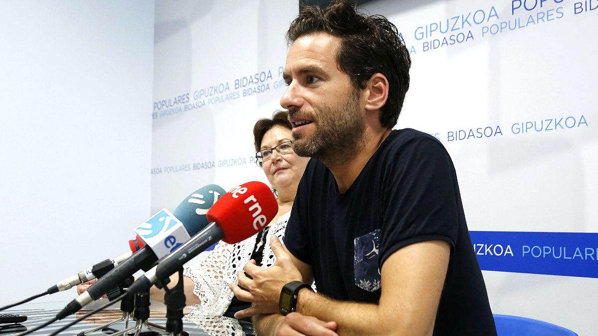 Borja Sémper durante una rueda de prensa este sábado (Foto: Efe).
