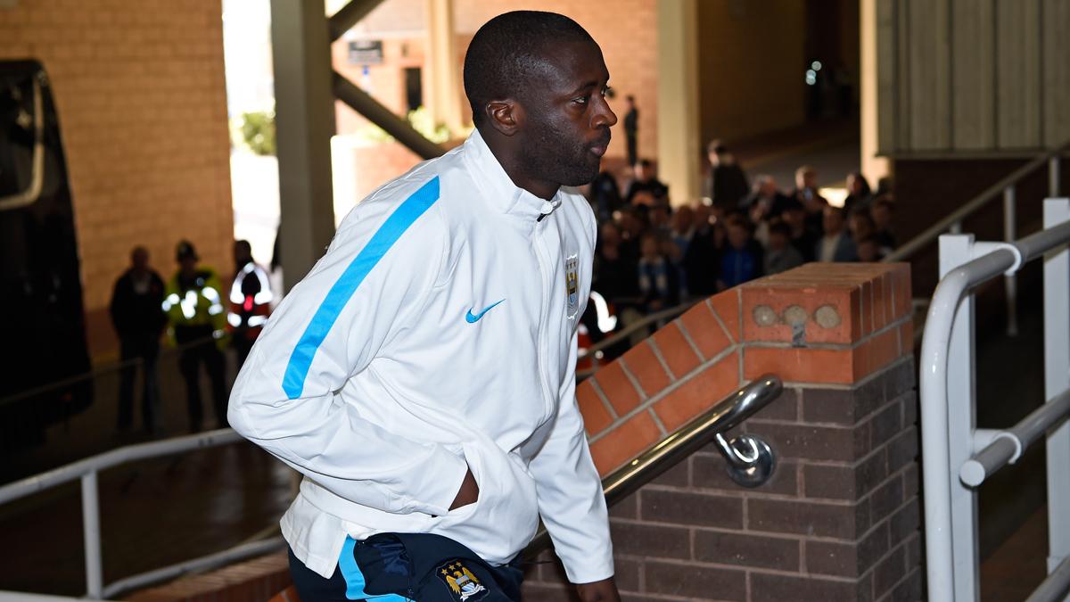 Yaya Touré, en una imagen de archivo antes de un encuentro del City.