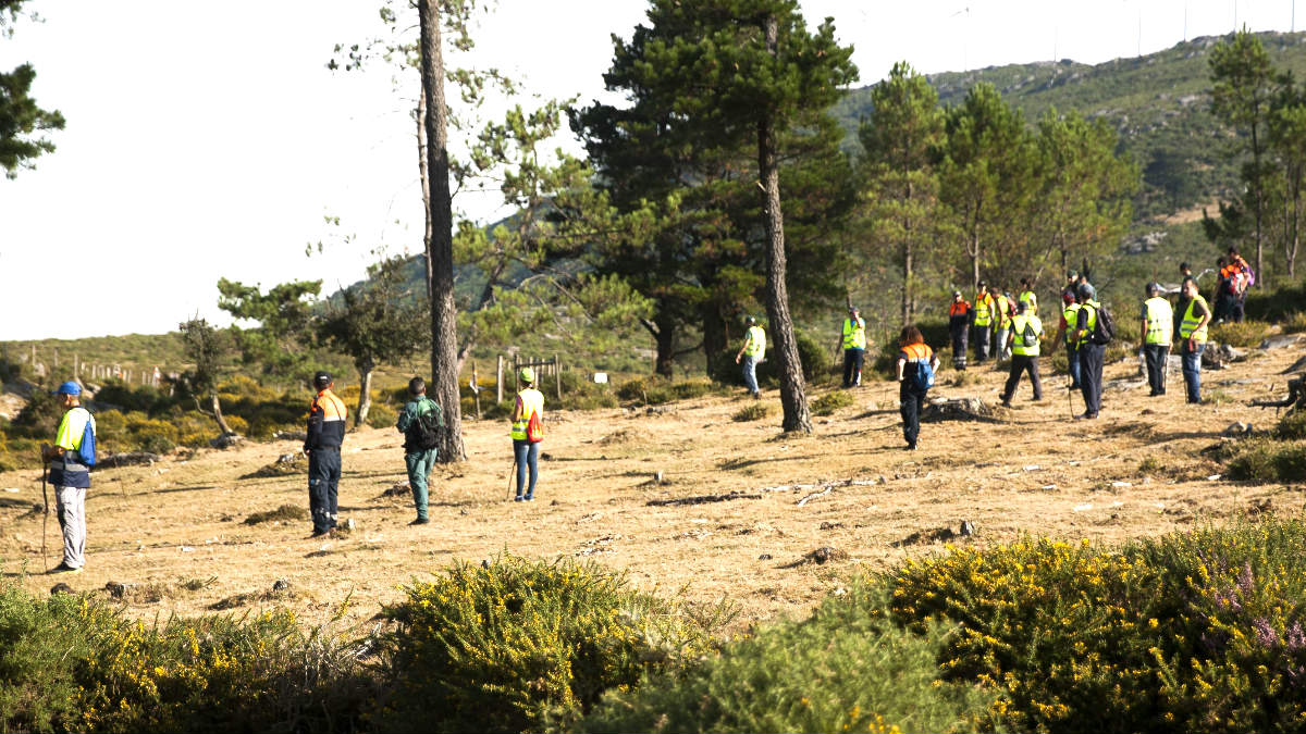 Voluntarios buscan a Diana Quer (Foto: Efe).