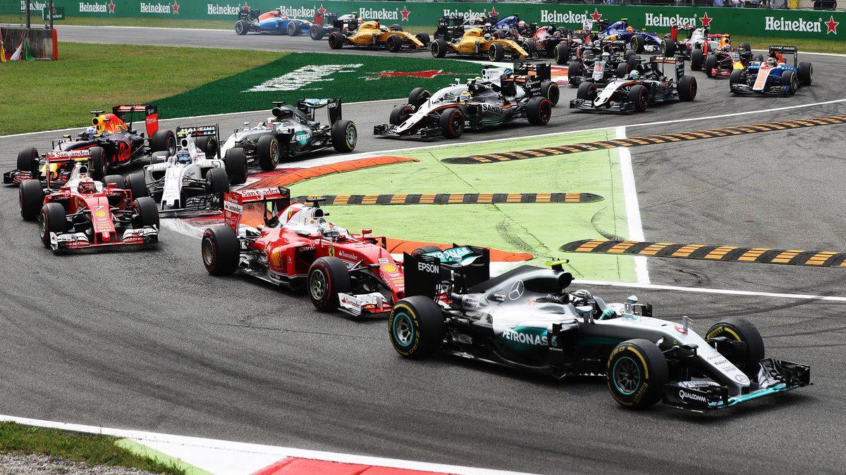 Rosberg ganó la carrera en Monza por delante de Lewis Hamilton (Getty)