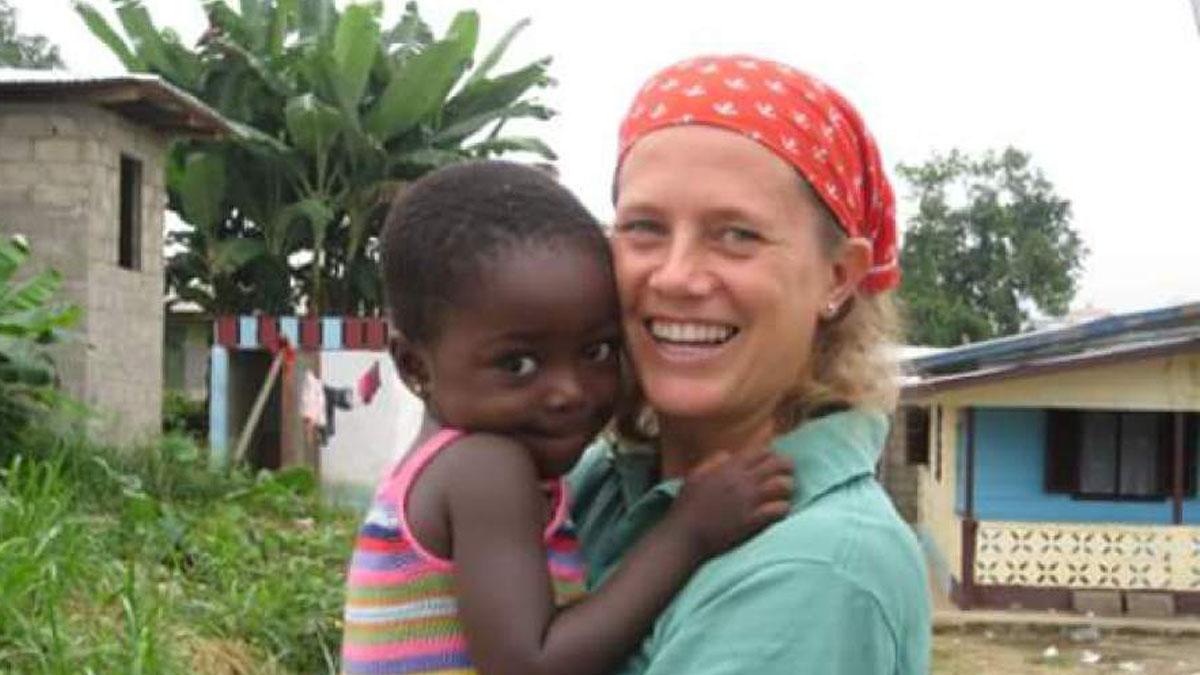 Foto de archivo de la misionera Isabel Solá.