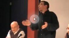 Juan Carlos Monedero, durante una conferencia pronunciada en 2012.