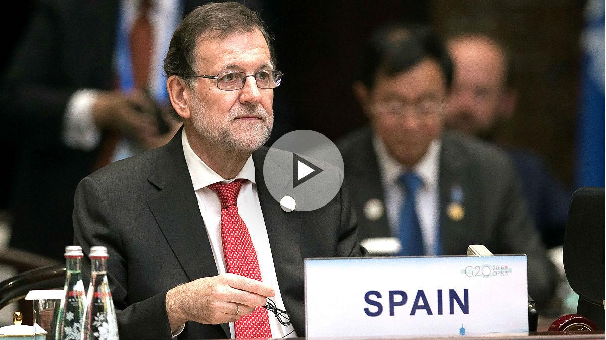 Rajoy en la cumbre del G20 en China (Foto: Reuters).