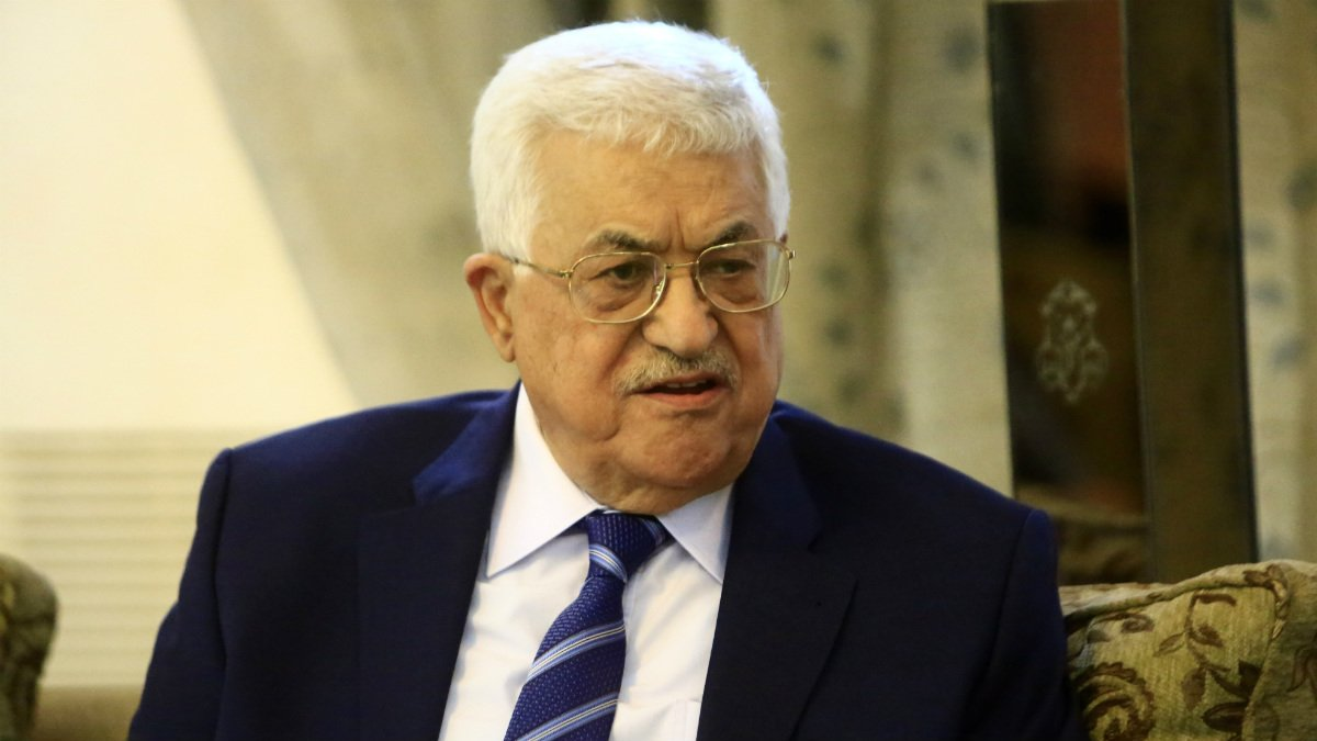Abu Mazen, presidente de la Autoridad Nacional Palestina (ANP). (Foto: AFP)