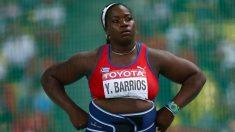 Yarelis Barrios subasta su medalla de plata y no la puede devolver. (Getty)