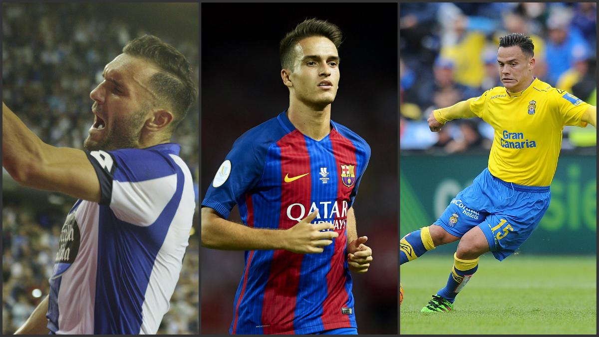 Lucas Pérez, Denis Suárez y Roque Mesa llaman a la puerta de la Selección