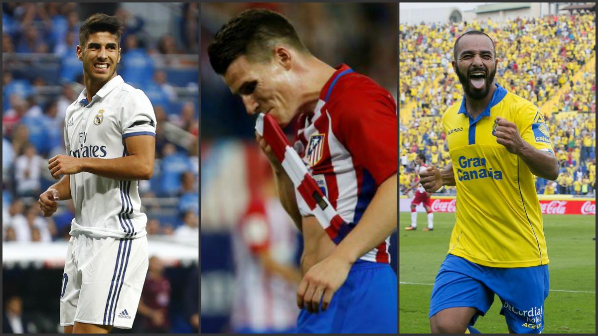 Marco Asensio, Gameiro y El Zhar, algunas de las sorpresas en la Liga Santander