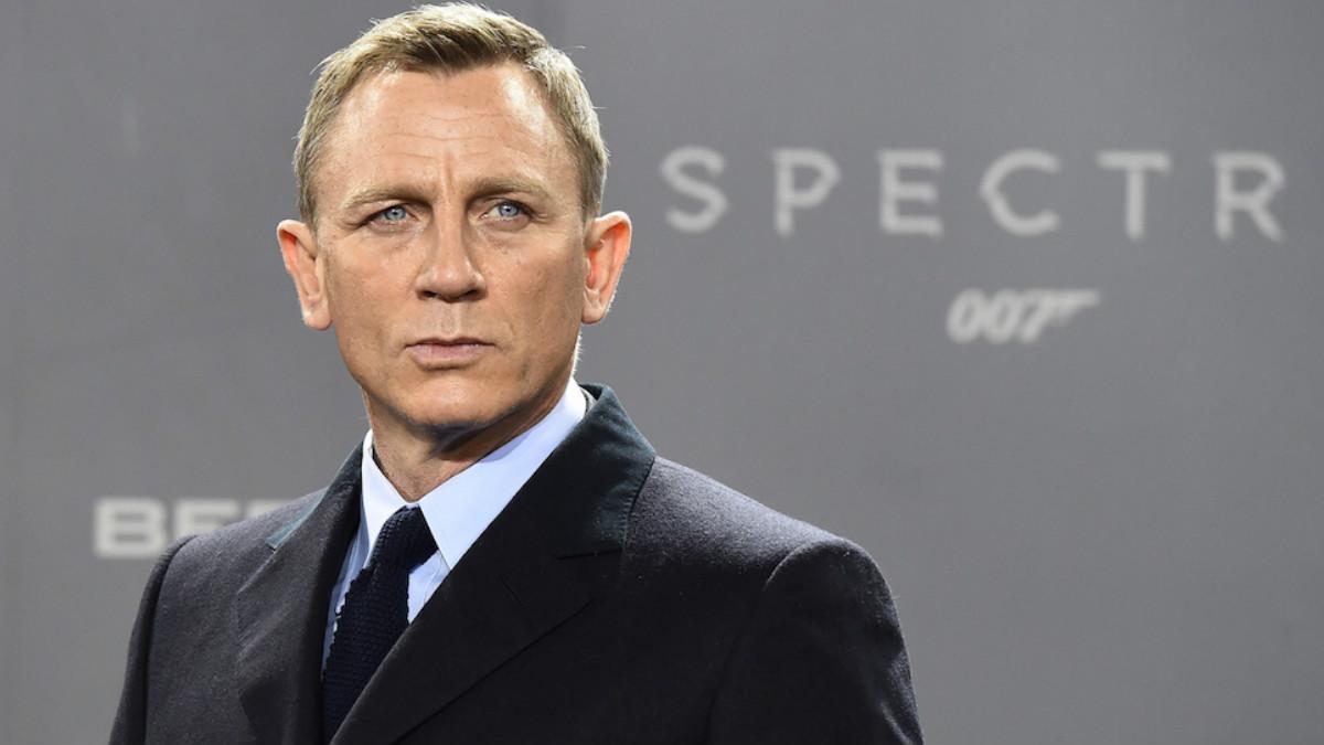 El actor Daniel Craig durante la promoción de Spectre.
