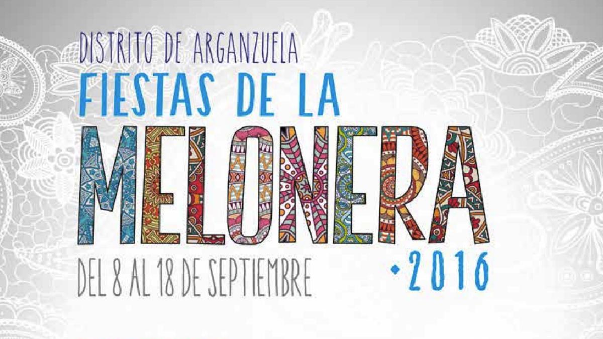 Cartel de las fiestas melonera. (Foto: Madrid)