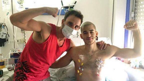 Los famosos apoyan a Pablo Ráez y su lucha contra la leucemia