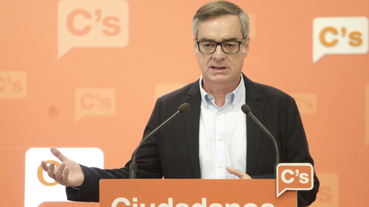 El vicesecretario general de Ciudadanos, José Manuel Villegas. (Foto: EFE)