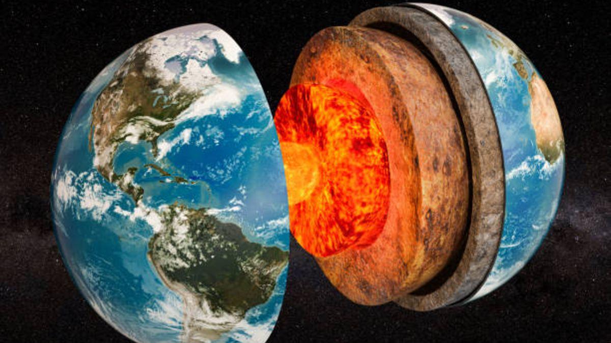 Descubre cuáles son las capas de la Tierra y cómo es su interior