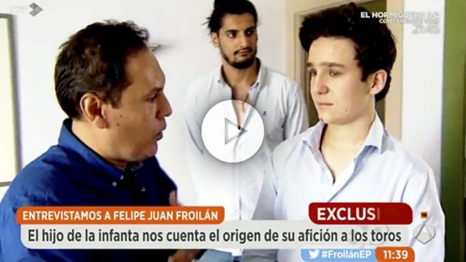 'Espejo Público' consigue en exclusiva la primera entrevista con Froilán