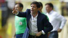 Marcelino, en un partido con el Villarreal. (AFP)