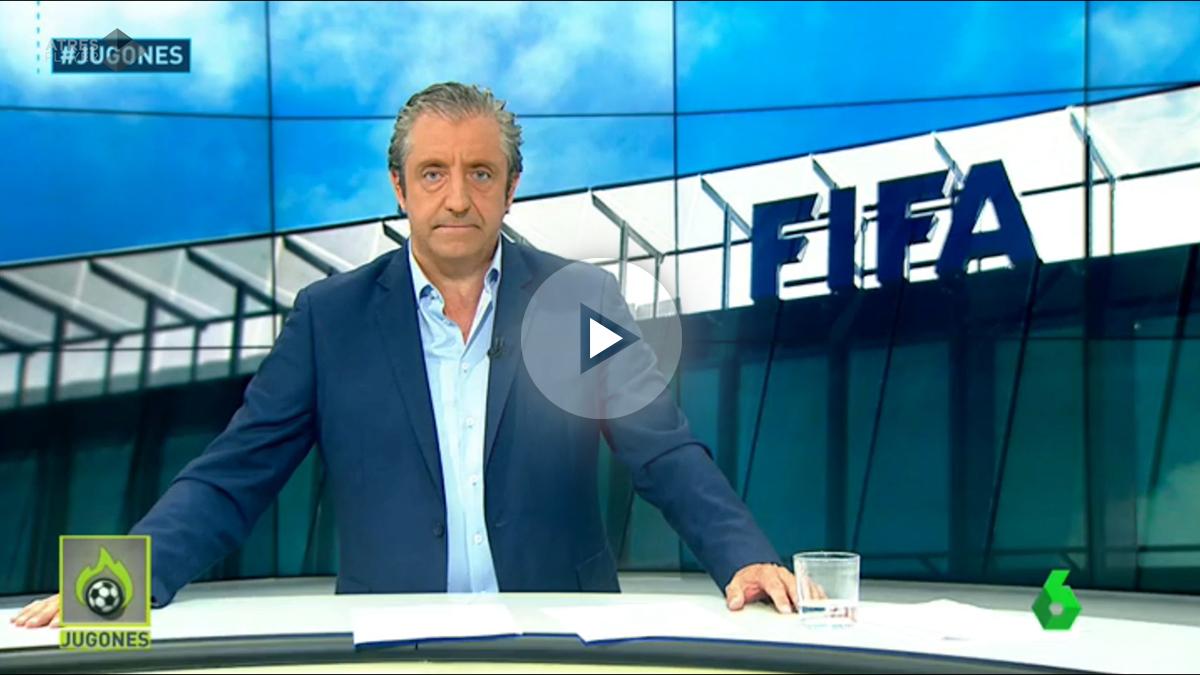 Josep Pedrerol dio la exclusiva de la sanción de la FIFA en Jugones.