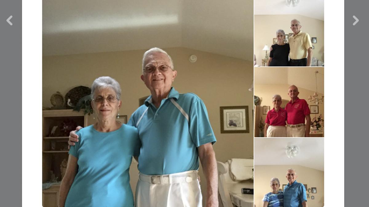 Ed y Fran llevan 52 años casados. (Foto: @AnthonyGargiula)