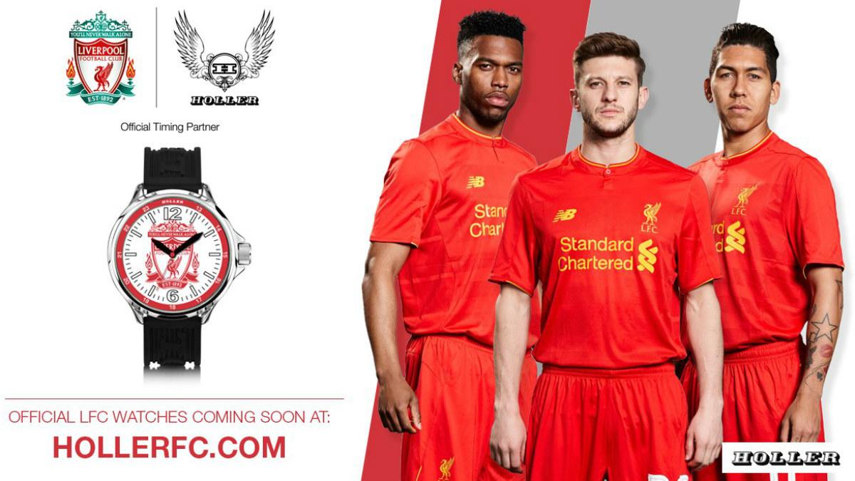 El Liverpool y Holler anunciaron su acuerdo con esta foto. (liverpoolfc.com)