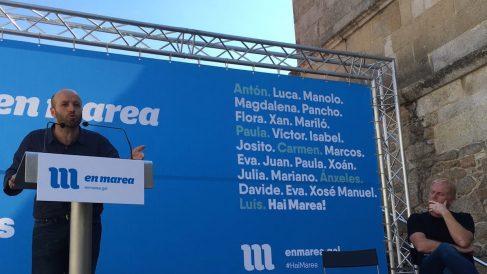 Luis Villares, candidato de En Marea a la Xunta de Galicia.