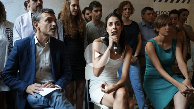 Rita Maestre y Tania Sánchez fundan una nueva familia en Podemos que nace «para ganar»
