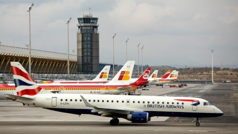 Aviones de Iberia y British Airways. (Foto: Getty)