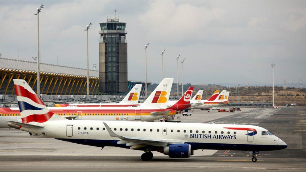 Aviones de Iberia y British Airways. (Foto: Getty)