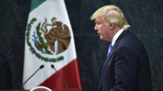 Donald Trump en su visita a México. (Foto: AFP)