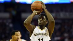 Jrue Holiday, en un partido de la NBA. (Getty)