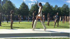 Desfile Kanye West (Instagram)