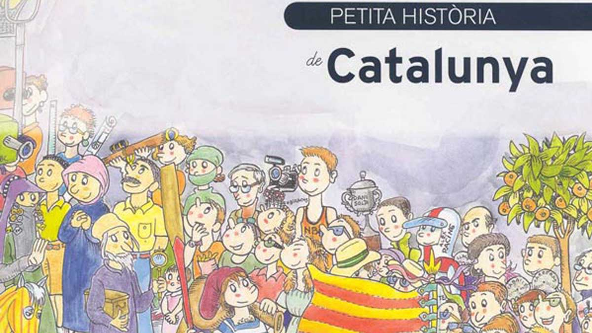 """Un libro para niños dice que Cataluña fundó el """"Imperio Romano Catalán"""""""