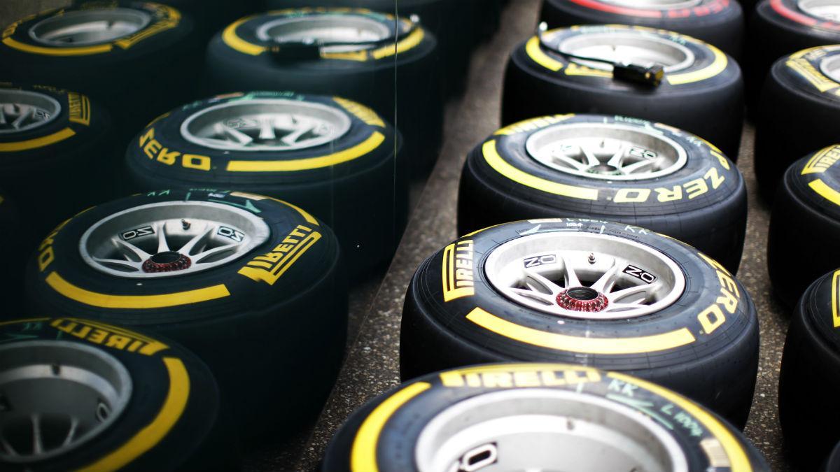 Una imagen de los neumáticos Pirelli. (Getty)