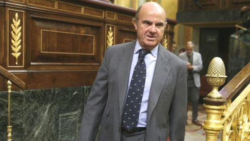 El ministro de Economía, Luis de Guindos (Foto: Efe)