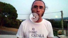 Pere, el payés del Montseny contrario a la violencia independentista. (Dolça Catalunya)