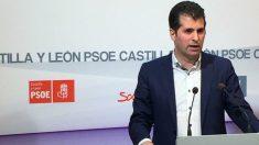 Luis Tudanca, líder del PSOE de Castilla y León.