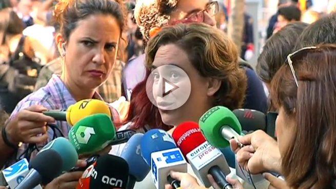 Colau acusa al PP de «no querer escuchar ni dialogar con la realidad catalana»